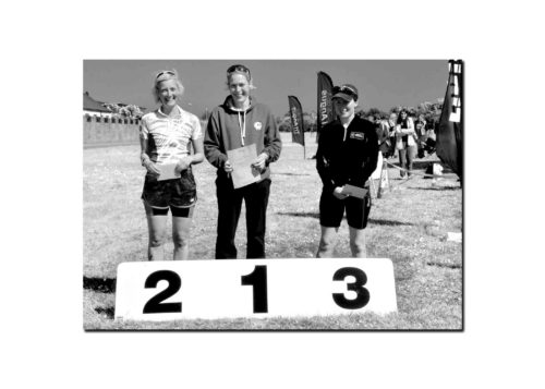 Women's Novice podium - credit John Dempsey